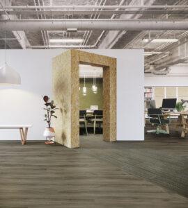 Luxury vinyl commercial flooring | O'Krent Floors