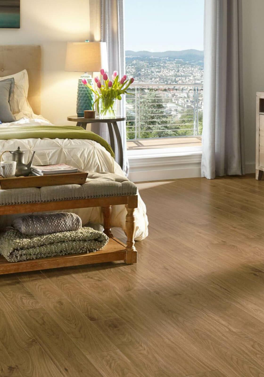 Urban Walnut Laminate | O'Krent Floors