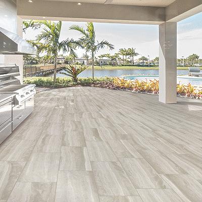 tile room scene | O'Krent Floors